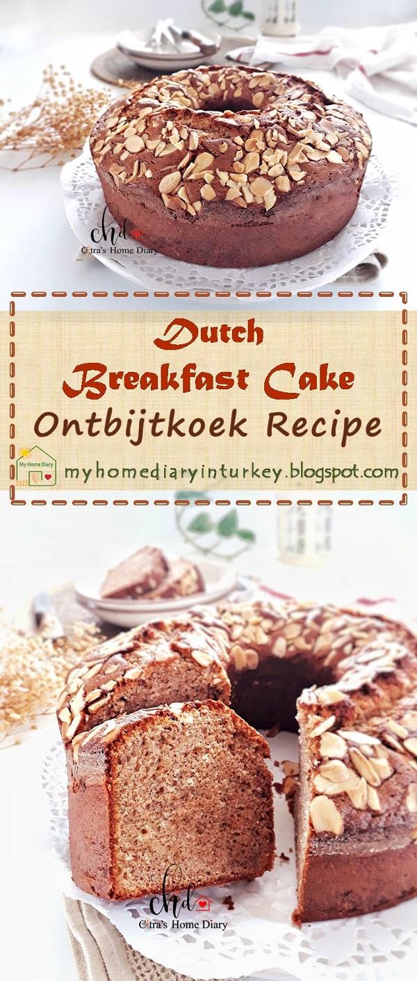 Ontbijtkoek recipe / Dutch Breakfast Cake (peperkoek) | Çitra's Home Diary. #peperkoek #breakfastcake #ontbijtkoekrecipe #resepbumbuspiku #Indonesisch #Indonesiancake #traditionalindonesiansnack #indonesianfoodrecipe #Indonesischvoedselrecept #foodphotography