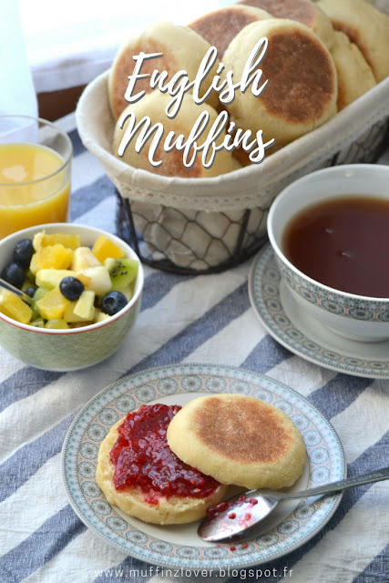 Recette facile English Muffins - muffinzlover.blogspot.fr