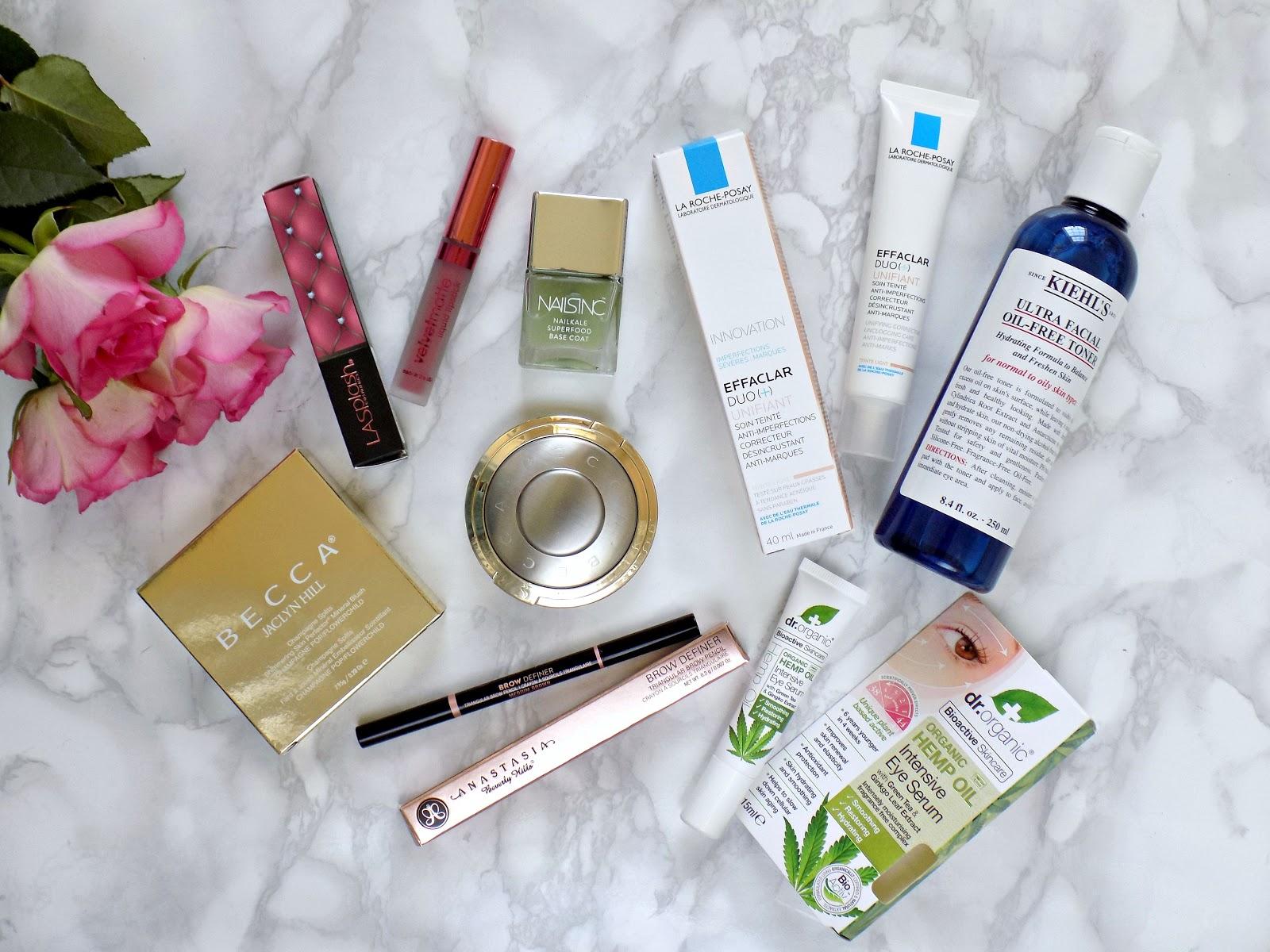 Makeup and skincare haul