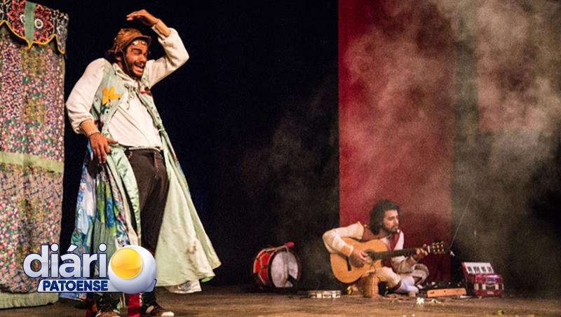 A CIA Mutuca de Circo e Teatro realizará espetáculo gratuito em Patos
