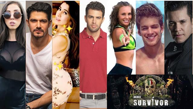 Famosos Survivor México 2021