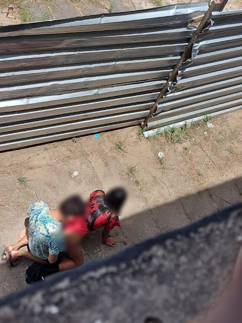 VÍDEO| Casal é flagrado fazendo sexo em canteiro de obras em cidade do Piauí
