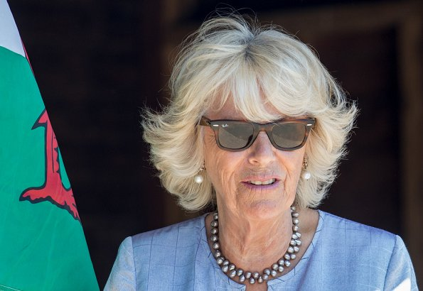 Prince Charles, Prince of Wales and Camilla, the Duchess of Cornwall visited the village of Llangwm and Cleddau estuary community of Llangwm