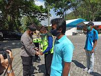 Kapolres Ponorogo kukuhkan Satgas Pelopor Cegah Covid-19 Di Objek Wisata Telaga Ngebel