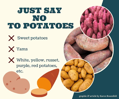Sweet potato, potato and yams are not good for dogs and cats