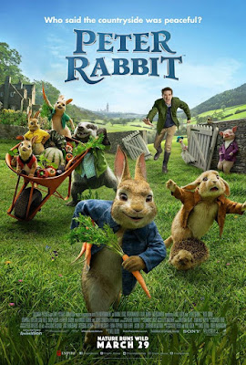 Peter Rabbit 2018 Dual Audio Hindi ORG 720p BluRay 1.1GB ESub