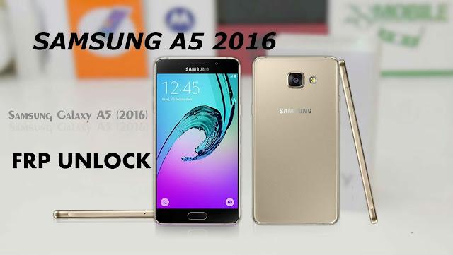حذف حساب جوجل اكونت لجهاز Galaxy A5 2016 SM-A510 اصدار 7.0