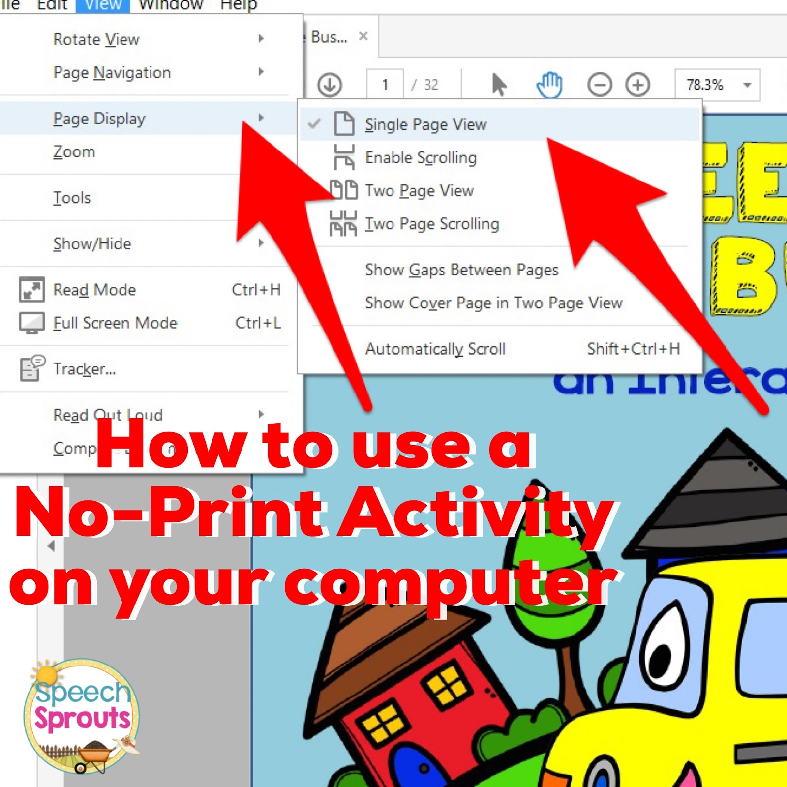 Speech Sprouts Surviving The Speech Therapy Holiday Season How To Use No Print Activities