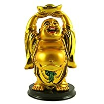 Small Laughing Buddha with Bowl for Gift