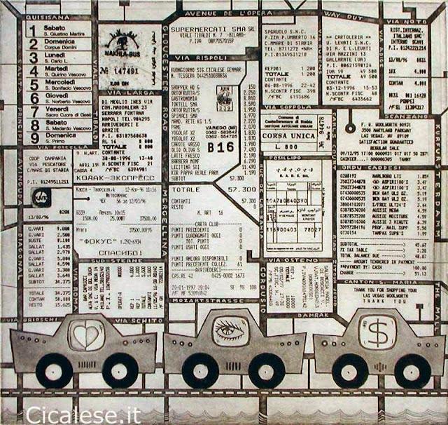 LUOGO MENTALE (1998) acquaforte (28,3x29,5)
