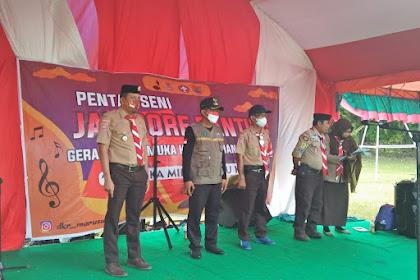 Jambore Ranting Kecamatan Marusu, Maros 2021 Berakhir