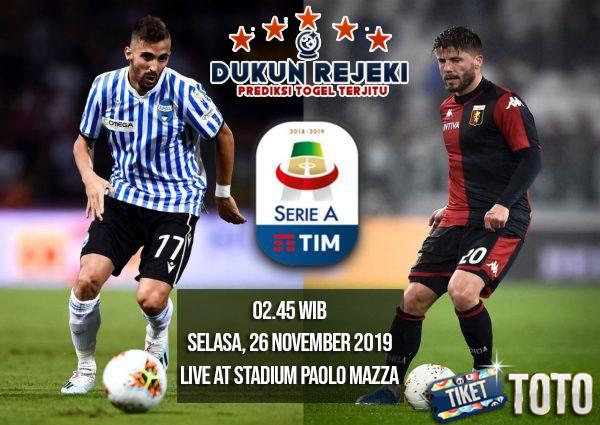 Prediksi SPAL vs GENOA 26 NOVEMBER 2019 LIGA ITALIA