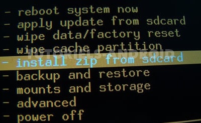 Installer ROM Custom via CWM - GALAXY Ace