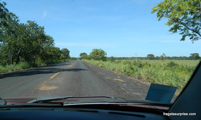 Rodovia Transpantaneira - Pantanal do Mato Grosso