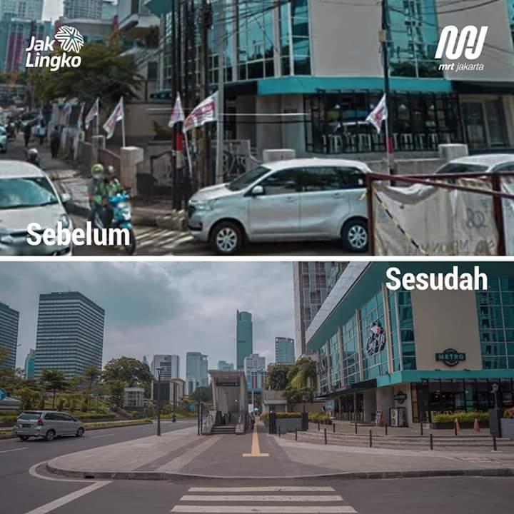 3 Foto Perbandingan Jakarta Dulu Dan Sekarang Bikin Buzzer Gigit Jari Tarbawia