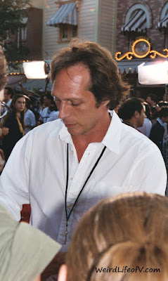 William Fichtner signing autographs at the Pirates of the Caribbean premiere