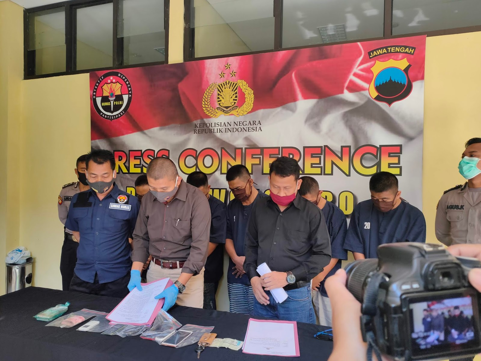 Komplotan Penipuan Transaksi Online Dibekuk Satreskrim Polres Wonosobo