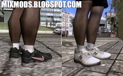 mod novos tênis para gta