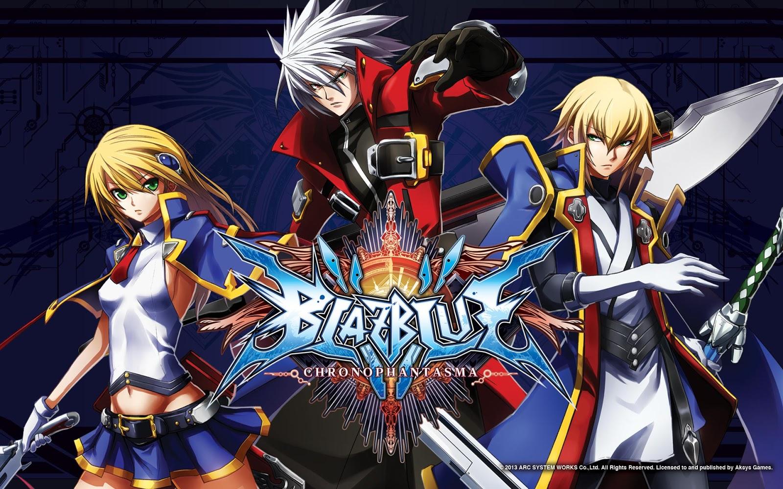 BlazBlue Chrono Phantasma Arcade Dump