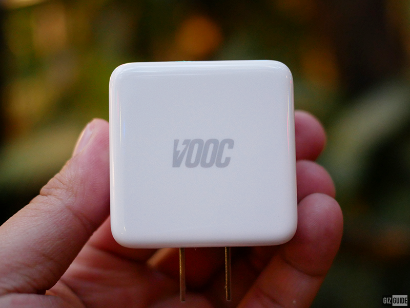 With VOOC charging