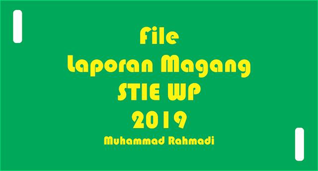 File Laporan Magang SE di STIEWidya Praja Tanah Grogot