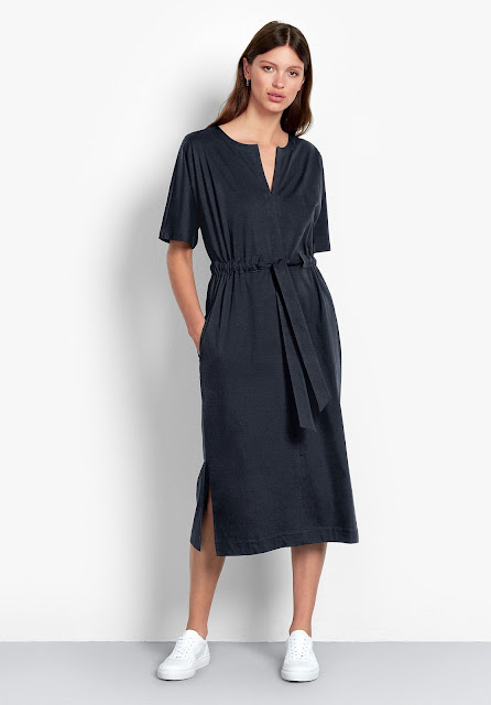 hush Adina v neck midi dress