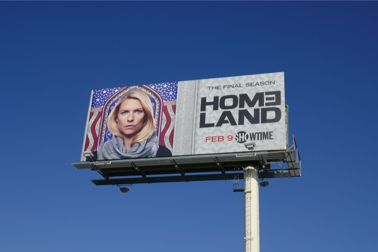 Homeland season 8 billboard