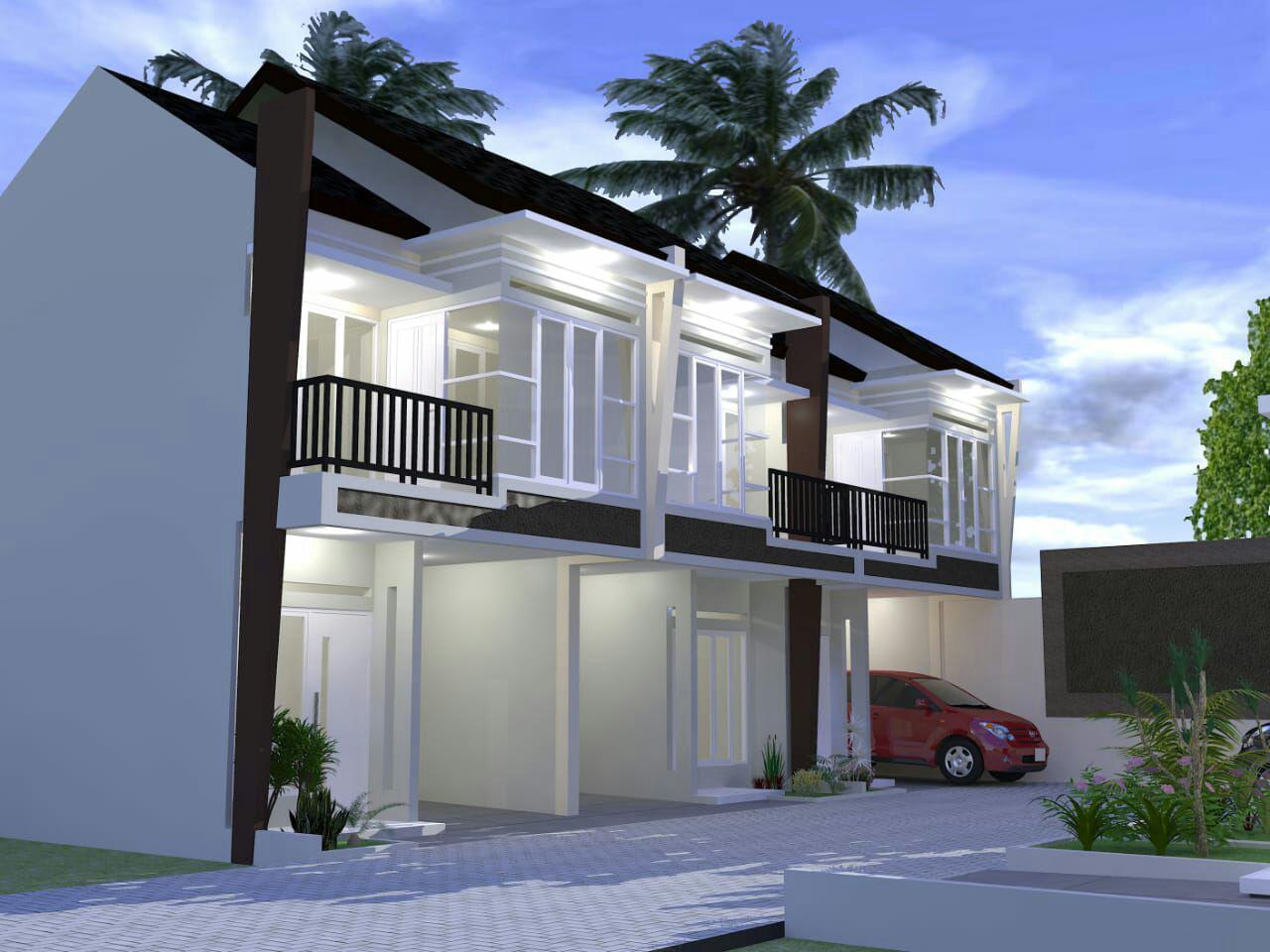 Rumah Cluster Minimalis 2 Lantai Izza Residence Jatiasih Bekasi