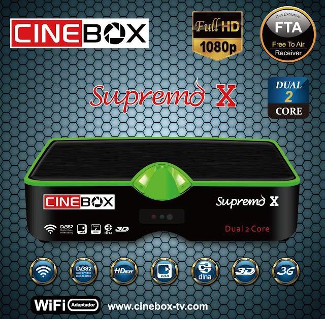CINEBOX SUPREMO X NOVA ATUALIZAÇÃO - 30/04/2019