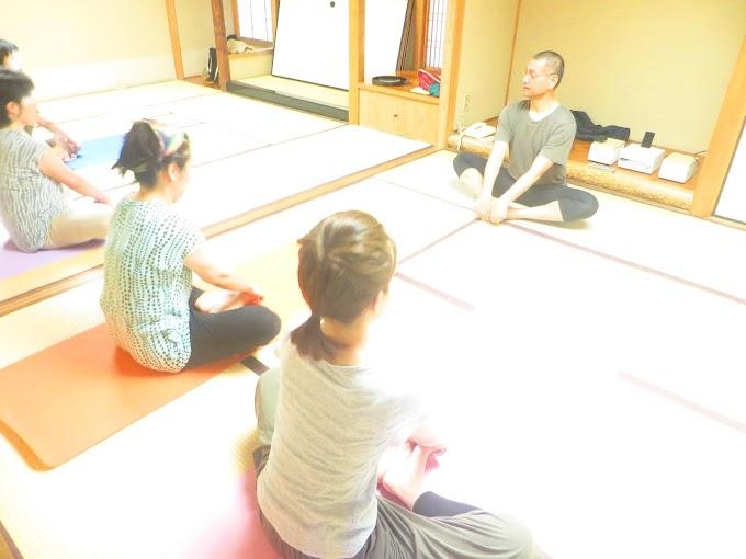 7月のヨガ&瞑想のワンデイコース 終了しました♪