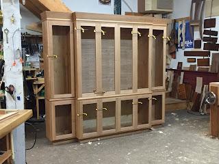 Handmade Media Cabinet