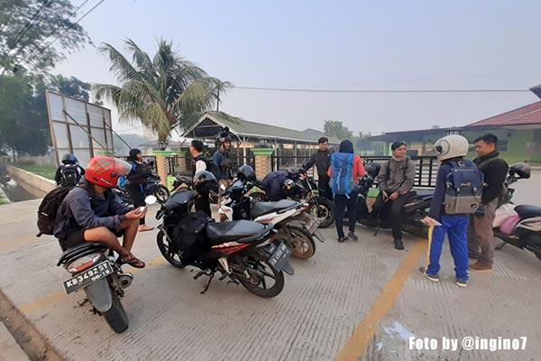 meeting point trip genpi ke desa dabong
