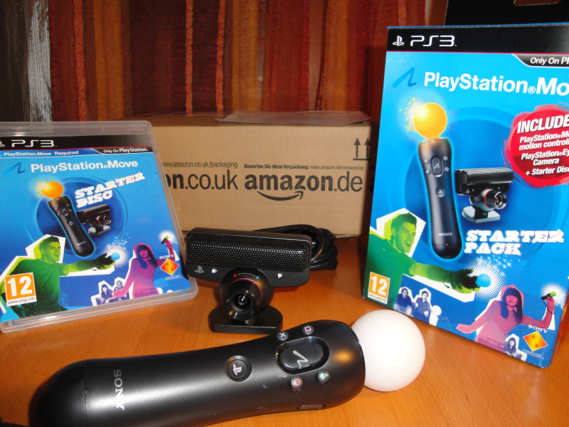 PlayStation Move FreebieJeebies eye camera ps3 slim