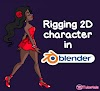 Rigging 2D character in Blender 2.82