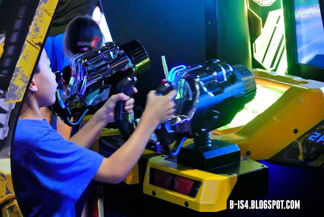Video Arcade, Transformers