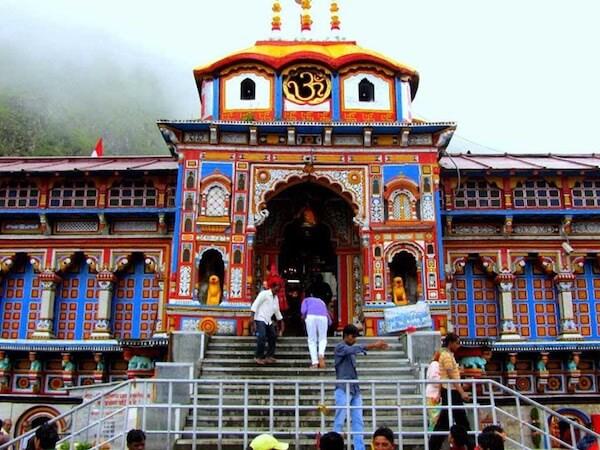Badrinath Temple Essay for School Students.
