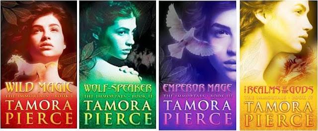 Tamora Pierce - Immortals Quartet series