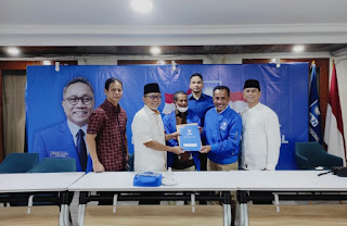 Ady Mahyudin Resmi Pimpin PAN Kabupaten Bima, Rafidin Diplot Sebagai Sekretaris
