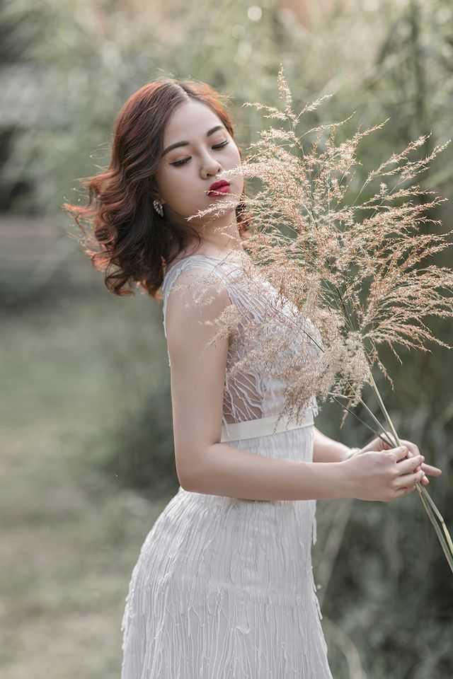 Nữ sinh Quảng Ninh khoe vóc dáng chuẩn với chiều cao tựa người mẫu