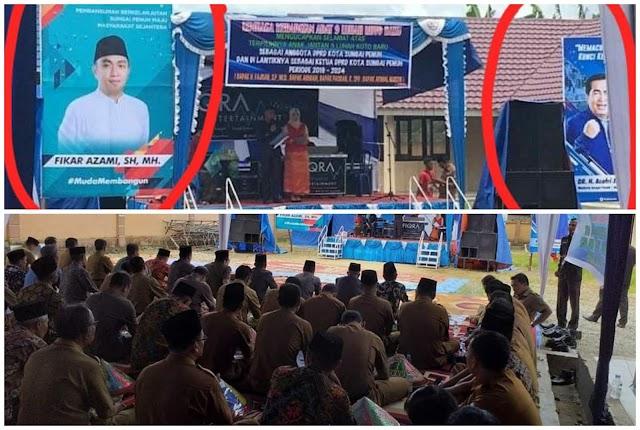 Diduga Ajang Kampanye Terselubung, Syukuran 4 Anggota DPRD Koto Baru Diprotes
