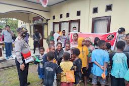 Binmas Noken Jayawijaya Hadirkan Keceriaan Anak-anak SD Impres Asologaima