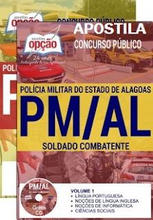 Apostila para Concurso da PMAL e Bombeiros do AL (CBM/AL).