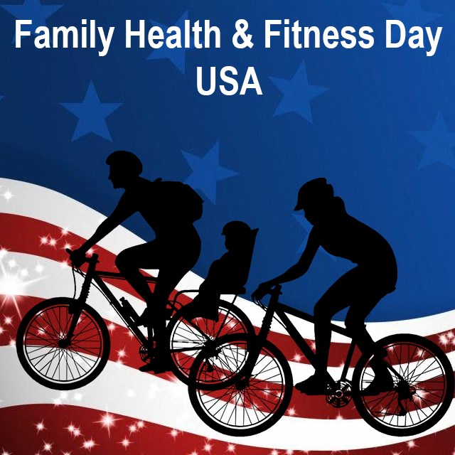 Family Health & Fitness Day USA Wishes Unique Image