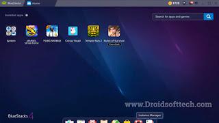 Bluestack Emulator for PC