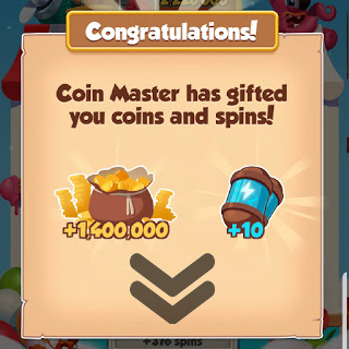 01/02/2021 Todays 1st Link For 10 Spins + Coins