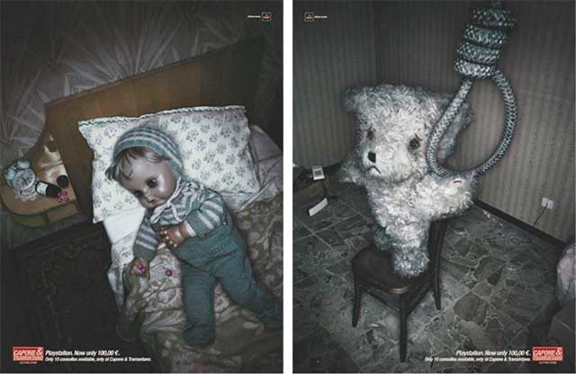 40 Most Creative & Controversial PlayStation Ads Image 32 33