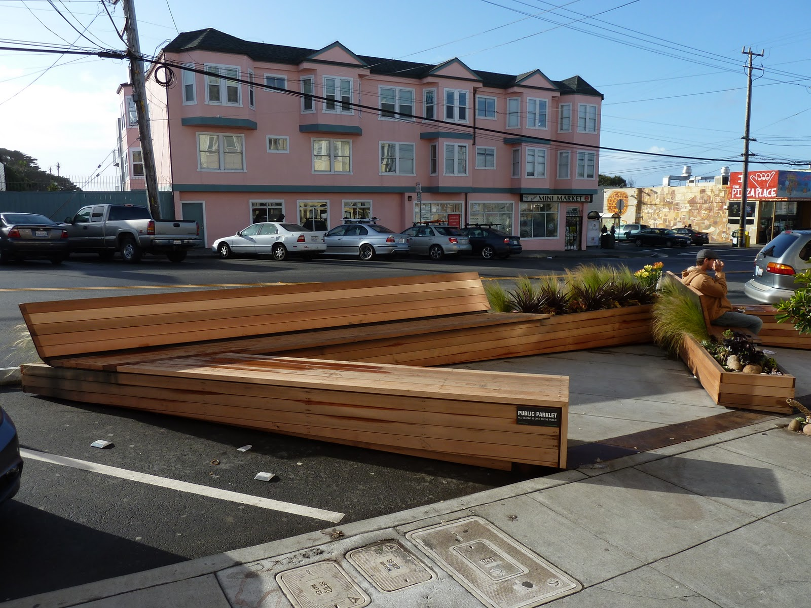 Gimme Shelter Parklets Please