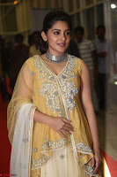 Nivetha Thamos in bright yellow dress at Ninnu Kori pre release function ~  Exclusive (21).JPG