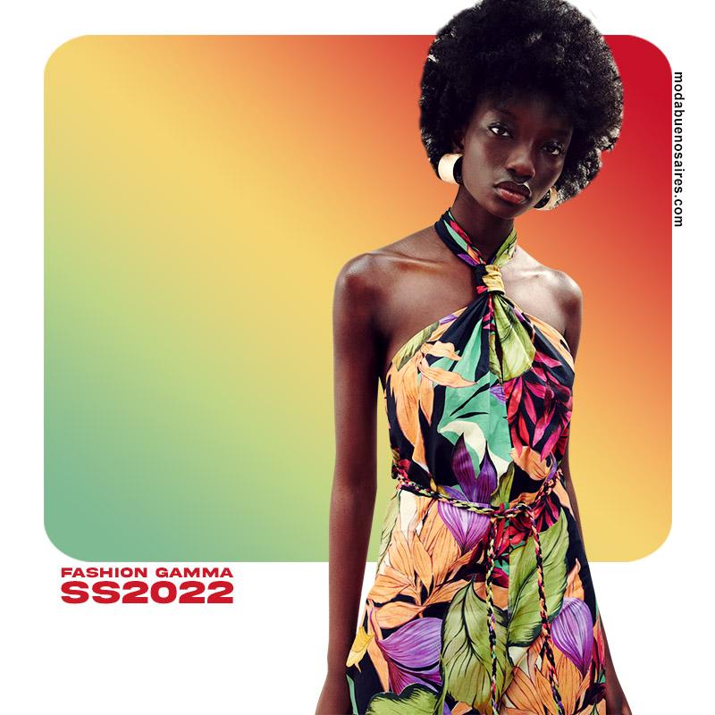 moda verano 2022 colores de moda