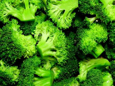 Broccoli and leafy vegetables